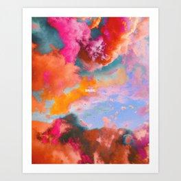 Brise Art Print