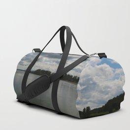 Yellowstone Lake View Duffle Bag
