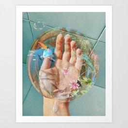 Aquarius&Pisces Art Print