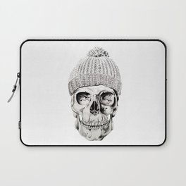 Skull with Hat Laptop Sleeve