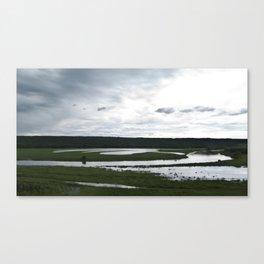 The Assiniboine Canvas Print