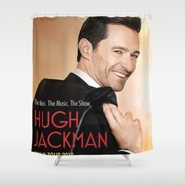 HUGH JACKMAN TOUR 2019 NOVITAKAL #NK33 Shower Curtain