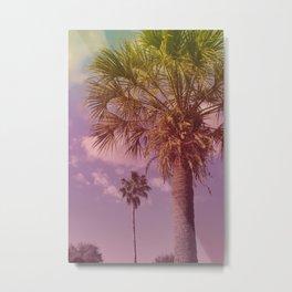 Palm Neighbors Metal Print