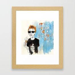 Yorke Framed Art Print