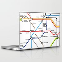 fandom Laptop & iPad Skins featuring Fandom Underground by Raccoon Illustrations