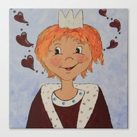 the little prince Canvas Prints featuring Little Prince by Petra Koob