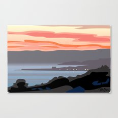 CA coastal scenic #4 Canvas Print