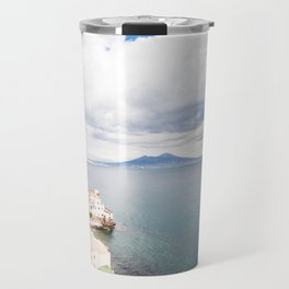 Posillipo view on the bay of Naples Travel Mug
