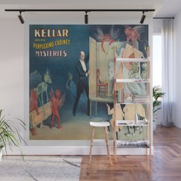 Vintage Magic Poster Wall Mural