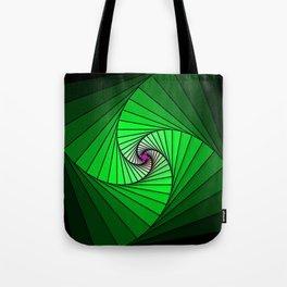 Spirale en vert, 2140b Tote Bag