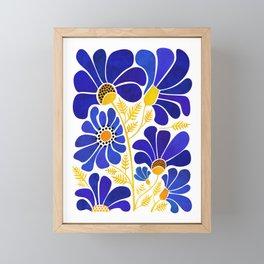 The Happiest Flowers Framed Mini Art Print