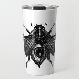 All-Seeing Scarab Travel Mug