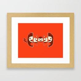 Mario-shka Framed Art Print