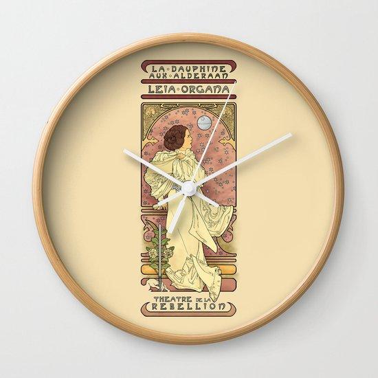 La Dauphine Aux Alderaan Wall Clock