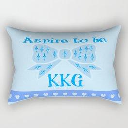Aspire to be KKG Rectangular Pillow