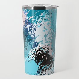 Abstract pattern 68 Travel Mug