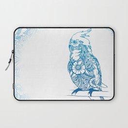 Henna Cockatiel - White background Laptop Sleeve