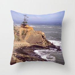 Cape Arago 1a Throw Pillow
