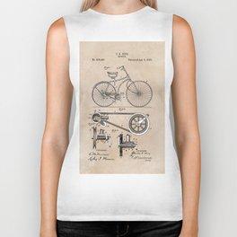 patent Bicycle 1890 Rice Biker Tank