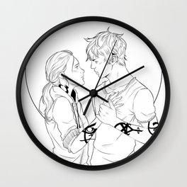 Break My Heart Wall Clock
