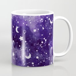 Zodiac Watercolor Ultraviolet Coffee Mug