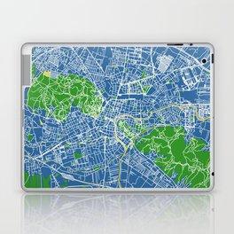 Ljubljana, Slovenia street map Laptop & iPad Skin