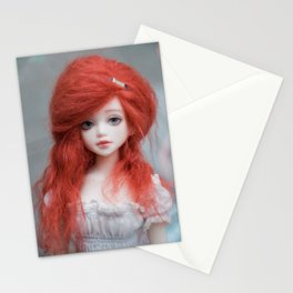 Ginger doll Stationery Cards