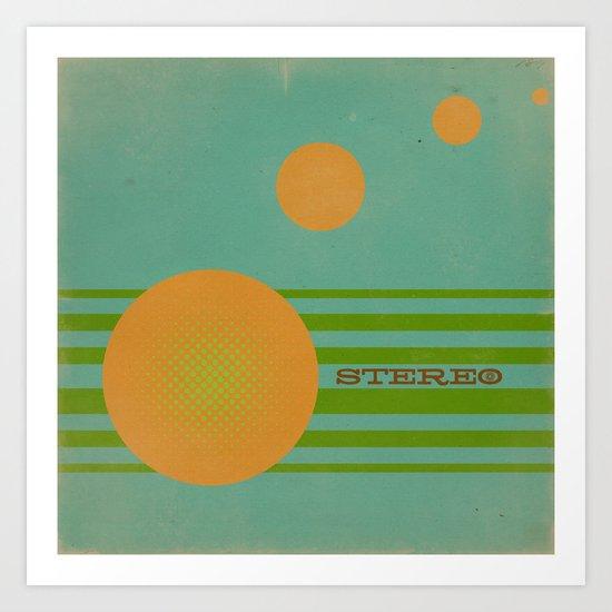 Stereolab (ANALOG zine) Art Print