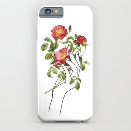 Flower in the Hand II iPhone Case