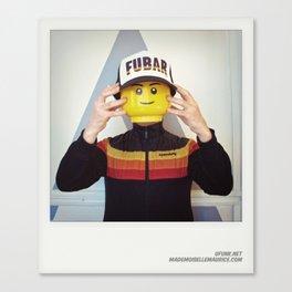 Minifig me ! – Everyone has a LEGO piece inside - 14 Canvas Print