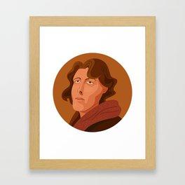 Queer Portrait - Oscar Wilde Framed Art Print