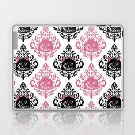 cat damask Laptop & iPad Skin