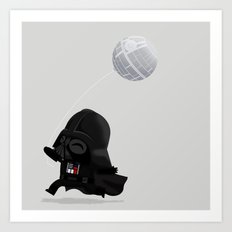 Beware, the Darth Star Art Print