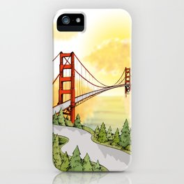 San Francisco Horizon iPhone Case