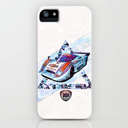 "Lancia LC2 ""Lancia-Ferrari""// Le Mans Race Cars iPhone Case"