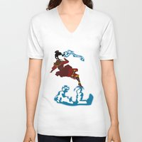 airbender V-neck T-shirts featuring Azula by JHTY