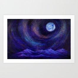 We Are The Creators, Cosmic Series Art Print