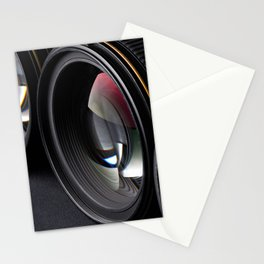 Photo lenses Stationery Cards