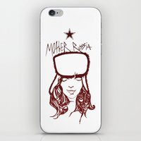 russia iPhone & iPod Skins featuring Mother Russia by Hoolianne