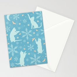 festive flurry Stationery Cards