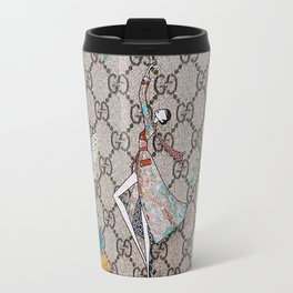 FloralGucci Travel Mug