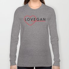 LOVEGAN (Love Vegan) Long Sleeve T-shirt