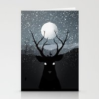 bambi Stationery Cards featuring Bambi by Rowan Stocks-Moore