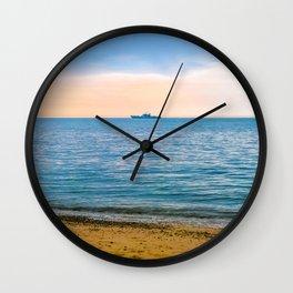 Great Yarmouth Beach Wall Clock