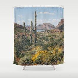 Arizona Spring Shower Curtain