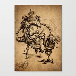 #20 Canvas Print