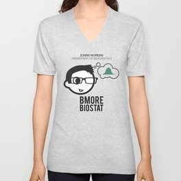 Bmore Biostat - Male Unisex V-Neck