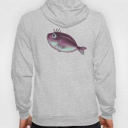 Funny Fish With Fancy Eyelashes Hoody