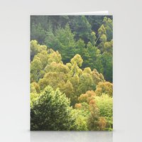 forrest Stationery Cards featuring Forrest Green by Bizzack Photography