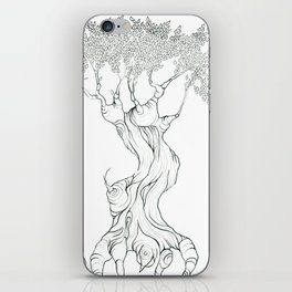 Three Free Trees iPhone Skin